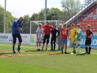 Латвийский тренер Кирилл Митин провел мастер-классы для новгородских футболистов