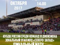 Финал Кубка России среди команд III дивизиона МРО