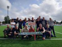В День трезвости сотрудники и пациенты «Катарсиса» сыграли в футбол на «Электроне»
