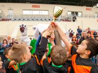 «СШ-2» выиграла «Осенний кубок Электрона» среди команд 2010 г.р. «Электрон U-9» занял третье место