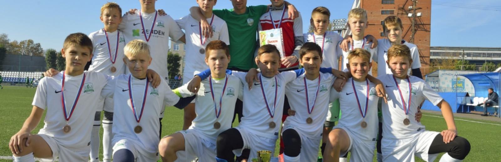 «Электрон U-13» стал бронзовым призером турнира во Пскове