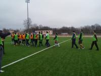 Футболисты «Электрона» сыграли товарищескую игру с болельщиками
